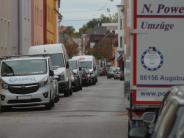 Augsburg: Wenn parkende Lastwagen die Anwohner nerven