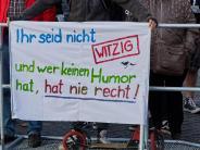 Augsburg: Hassreden bei Pegida-Demo in Augsburg: SPD kritisiert die Polizei