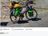 Italien: Nach 11.000 Kilometern wird Weltenbummler das Rad gestohlen