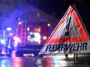 Augsburg: Feuerwehr muss am Samstag viermal ausrücken