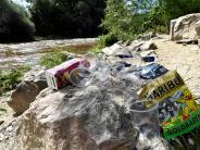 Augsburg: Müll an der Wertach soll schneller entsorgt werden