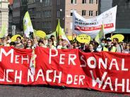 Augsburg: Warnstreiks am Klinikum sind vorerst vorbei