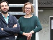 Serie - Neu am Theater Augsburg: Ein Paar hinter und neben der Bühne