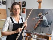 Porträt: Eine Musikerin, die Musiker malt