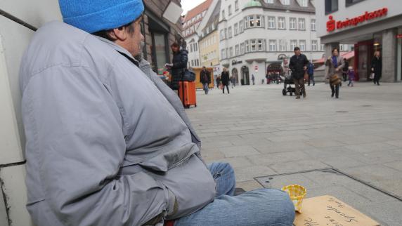 Augsburg: Für die Obdachlosen in Augsburg ist der Winter lebensgefährlich