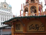 Augsburg: Führt eine Spur zu den Schmierern vom Christkindlesmarkt?
