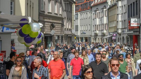 Augsburg: Es ist Schluss mit sonntags einkaufen in der Augsburger Innenstadt