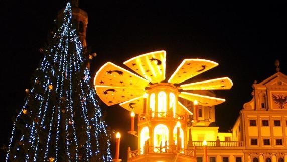 Augsburg: Augsburger Weihnachtsbäume: Oh Pannenbaum, oh Pannenbaum...