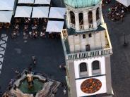 Augsburg: Der Perlachturmmuss sofort schließen