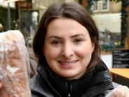 Augsburg: Christkindlesmarkt: Ein Stand, der sich verwandelt