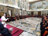 : Frostige Weihnacht im Vatikan