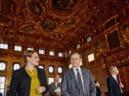 Politik: Der thüringische Ministerpräsident ist zu Gast in Augsburg