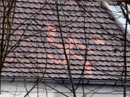 Augsburg: Polizei ermittelt wegen Hakenkreuz auf Dach