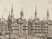 Augsburger Geschichte: Güterbahnhof von Häusernabgelöst