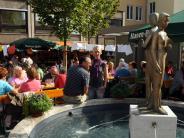 Tradition: Kaum Geldwäsche in Augsburgs Brunnen