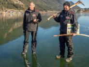 Eisschnelllauf in Kärnten: James Bond machte ihn zum Eismeister