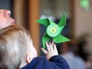 Bildergalerie: Grüne Gäste im Augsburger Rathaus