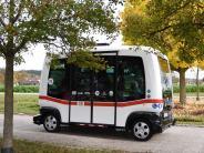 Augsburg: Stadtwerke testen selbst fahrenden Bus