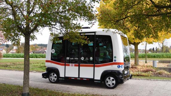 Augsburg: Stadtwerke testen selbstfahrenden Bus