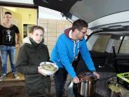 Augsburg: Köche stehen für Bedürftige am Herd