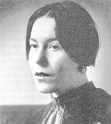 Mit der Dichterin Paula Ludwig war B.B. früh befreundet. - Copy-20of-20altes-2