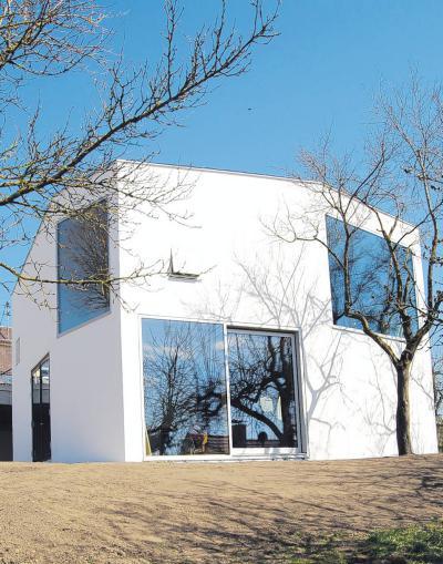 architektur passivhaus bauen mit der sonne lokales. Black Bedroom Furniture Sets. Home Design Ideas