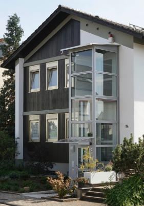 wohnen der aufzug f rs einfamilienhaus lokales augsburg augsburger allgemeine. Black Bedroom Furniture Sets. Home Design Ideas