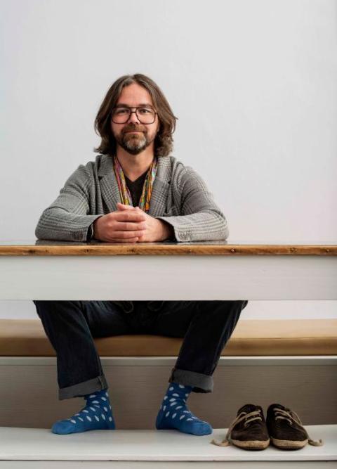 interview er macht aus p mpeln kleiderhaken lokales augsburg augsburger allgemeine. Black Bedroom Furniture Sets. Home Design Ideas