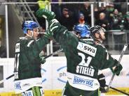 Augsburger Panther: Perfektes Wochenende: Sieg und Play-off-Ticket