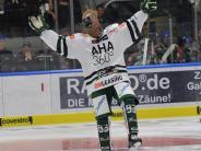 """Augsburger Panther: Mit Pferdekopf beim Penalty - der """"Hockey Day"""" in Bildern"""