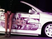 Auto: Strassfelgen und lila Lack: Frauenpower beim Tunen