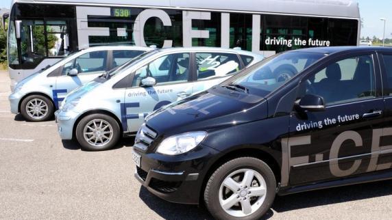 Neues vom Automarkt: Erste Brennstoffzellenautos sollen 2017 kommen