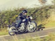 Verkehr: Auf alt getrimmte Eisen -Retro-Motorräder im Trend