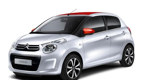 Auto: Die aktuellen Modelle: Der zweite Drilling: Citroën C1 feiert Premiere in Genf