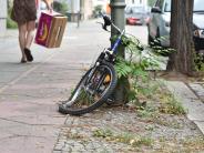 Fahrräder: In Bayerns Städten stehen immer mehr Schrotträder