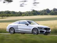 Test: Mercedes C-Klasse Coupé: Design mit Stern