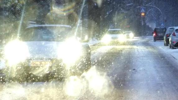 Wetter: Neuschnee löst mehrere Unfälle in Bayerisch-Schwaben aus