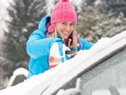 Auto 2017 1801Ex 2101NR: Eine gründliche Scheibenpflege ist im Winter besonders wichtig