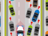Auto aktuell Januar: Klare Regeln für die Rettungsgasse