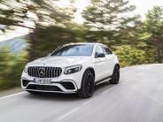 New York Auto Show: AMG montiert V8-Motor auch in Mercedes GLC und GLC Coupé