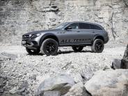 Prototyp: Neues von Mercedes:Extrem-Version der E-Klasse Allterrain