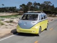 Fahrbericht: VW ID BUZZ im Test: Zeitreise mit Happy End