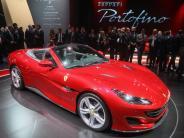70-jähriges Jubiläum: Geburtstag auf der IAA: Ferrari stellt Cabrio Portofino vor
