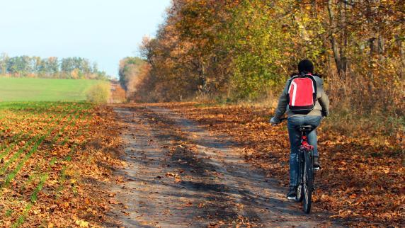 Fahrradherbst: Licht ist Pflicht