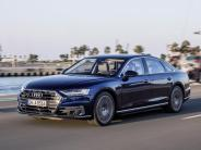 Fahrbericht: Audi A8 im ersten Test: Streber im Smoking