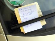 Ein Zettel reicht nicht: Nach Parkrempler die Polizei rufen