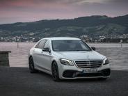 Neuvorstellung: Schwebenstatt Fahren: die neue Mercedes S-Klasse im ersten Test