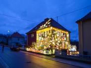 Weihnachtsdeko: 67.000 Lämpchen am Haus – wer bietet mehr?