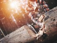 Heizen, Holz- und Waldarbeit: Mit Säge, Axt und Muskelkraft