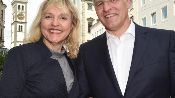 Augsburg: Gerüchte um Beate Merk und Kurt Gribl und ein klärendes Gespräch